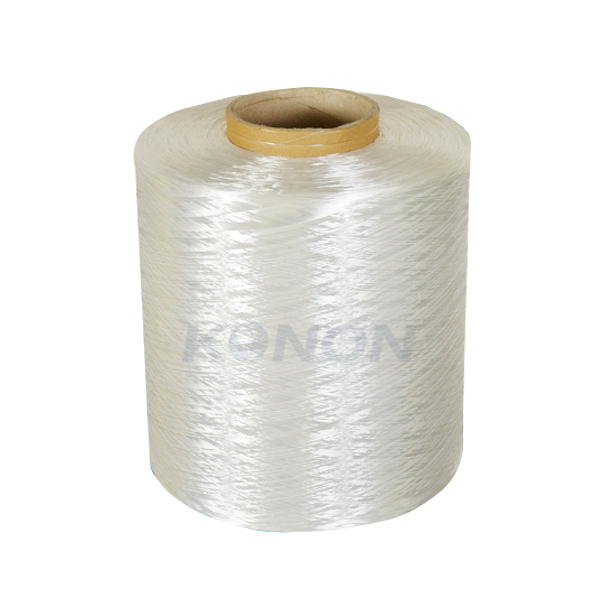 Strong polyester filament